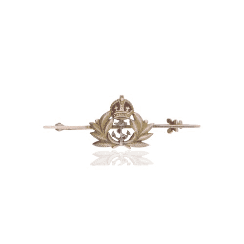 naval bar brooch