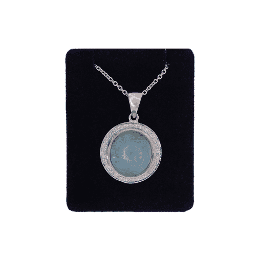 Jade and Diamond Pendant